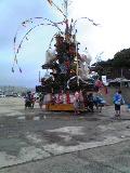 小川島、雨あがりぃ♪