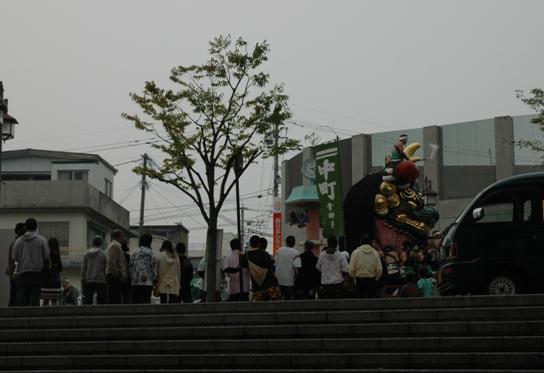 唐津くんち(11/3 お旅所神幸)